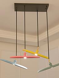 abordables -Moderno/Contemporáneo Lámparas Colgantes Para Sala de estar Dormitorio Cocina Comedor Habitación de estudio/Oficina AC 100-240V Bombilla