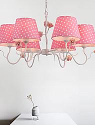 Rustico/campestre Artistico Paese Lampadari Per Camera da letto Stanza per ragazze Negozi/Cafè Lampadine non incluse