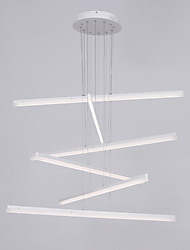 cheap -Remoter Dimming Modern/Comtemporary Pendant Light White Feature for Bulb Included Acrylic Living Room Indoors 90-240V
