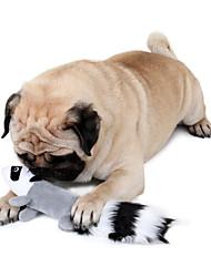 Недорогие -Плюшевые игрушки Игрушки с писком Милый стиль Скрип Белка Белка Ткань Назначение Кошка Собака