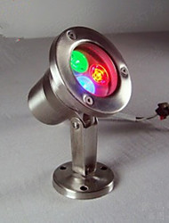 cheap -3W Underwater Lights Rechargeable RGB DC 12V