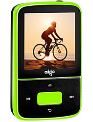 cheap -Aigo Bluetooth MP3 Player Portable Mini Pedometer HiFi Lossless Music Player Mini Sports Back Clip Type Recorder