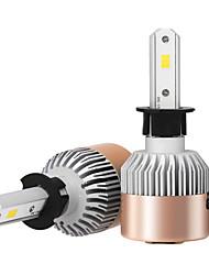 preiswerte -2pcs h3 7200lm Scheinwerfer Umbausätze mit Scheinwerferbirnen bridgelux csp Span