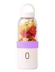 Yiloo Relieved Portable Electric Cups USB Rechargeable Fruit Juicer Automatic Mixing Cup Six Blade Blade