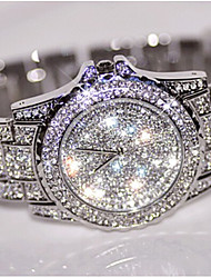 cheap -Women's Quartz Wrist Watch / Bracelet Watch Chinese Creative Stainless Steel Band Charm / Luxury / Sparkle / Dot / Bohemian / Elegant /