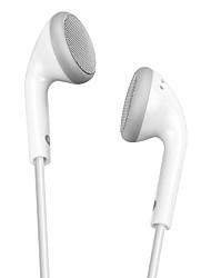 Per la cuffia avricolare stereo del filo stereo della cuffia avricolare del telefono stereo di samsung / iphone ximalong bianco