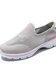 economico -Per donna Scarpe Tulle Primavera Autunno scarpe da ginnastica Footing Piatto Punta tonda Traforato per Grigio Viola Fucsia Blu marino
