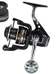 cheap -Spinning Reel 5.5:1 Gear Ratio+13 Ball Bearings Hand Orientation Exchangable Sea Fishing Bait Casting Spinning Jigging Fishing Freshwater