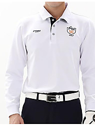 cheap -Men's Long Sleeves Golf Top Golf