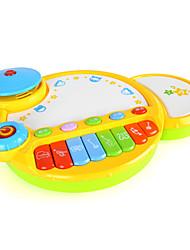 baratos -MZ Bateria Brinquedo Educativo Instrumento Musical de Brinquedo Crianças