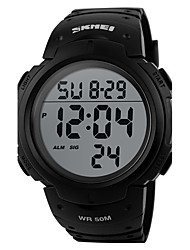 cheap -Men's Digital Digital Watch Wrist Watch Smartwatch Sport Watch Chinese Calendar / date / day Chronograph Water Resistant / Water Proof