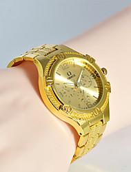 Недорогие -Муж. Модные часы Уникальный творческий часы Повседневные часы Наручные часы Кварцевый Нержавеющая сталь ГруппаС подвесками Повседневная