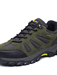 economico -Da uomo scarpe da ginnastica Comoda Scamosciato Per tutte le stagioni Sportivo Escursionismo Comoda Piatto Grigio Verde militare Cachi