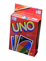 cheap -Board Game Card Game UNO Toys Square Plastic Pieces Unisex Gift