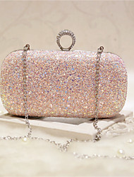 cheap -Women Bags PU Evening Bag for Event/Party Party & Evening Club All Seasons Blue Gold White Blushing Pink