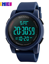 cheap -Men's Digital Wrist Watch Smartwatch Sport Watch Chinese Calendar / date / day Chronograph Water Resistant / Water Proof Large Dial
