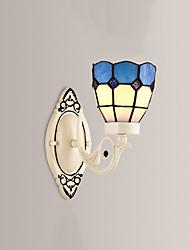 AC 100-240 60 E26/E27 Rustico/lodge Pittura caratteristica for LED,Luce ambient Lampade a candela da parete Luce a muro