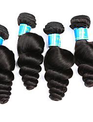 Vinsteen 4Pcs 400g Loose Wave Human Hair Extensions Vietnamese Hair Weave Natural Human Hair Weft Silky Human Hair Weaves