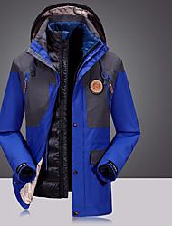 Per uomo Giacche 3-in-1 Antivento Gonne Pantaloni per Campeggio e hiking Sport da neve Inverno Autunno