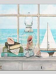 Peint à la main Paysage Carré,Moderne Classique Un Panneau Toile Peinture à l'huile Hang-peint For Décoration d'intérieur