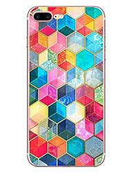 preiswerte -Für iPhone X iPhone 8 Hüllen Cover Muster Rückseitenabdeckung Hülle Geometrische Muster Weich TPU für Apple iPhone X iPhone 8 Plus iPhone