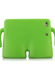 cheap -Case For Apple iPad Mini 4 iPad Mini 3/2/1 iPad 4/3/2 iPad Air 2 iPad Air Shockproof Child Safe Full Body Cases Solid Color Hard EVA for