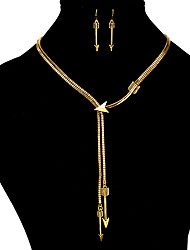 cheap -Women's Jewelry Set Euramerican Party Anniversary Gift Casual Valentine Alloy Bullet