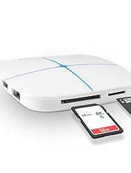 6 портов USB-концентратор USB 2.0 С чтения карт (ы) Центр данных