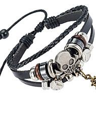 Недорогие -Муж. Кожаные браслеты Бижутерия Природа Мода Кожа Сплав нерегулярный Бижутерия Особые случаи Подарок Спорт