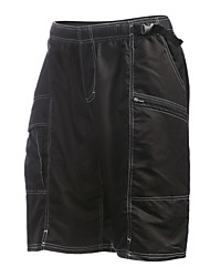 Jaggad Cycling Shorts Men's Bike Baggy shorts Shorts Padded Shorts/Chamois Bottoms Quick Dry Breathable Reflective Strips Nylon Stripe