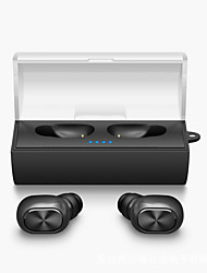 cheap -Mini Twins True Wireless Earphone Bluetooth TWS Stereo Music Airpods Style in ear headphones fone de ouvido with Charging Box