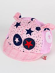 Kids' Cap Star Pattern Soft Brim Cartoon Ears Hat