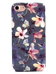 Недорогие -Кейс для Назначение Apple iPhone 7 / iPhone 7 Plus С узором Кейс на заднюю панель Цветы Твердый ПК для iPhone 7 Plus / iPhone 7 / iPhone 6s Plus