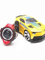 Недорогие -Машинка на радиоуправлении 2.4G Автомобиль 1:12 Коллекторный электромотор 50-100 КМ / Ч Пульт управления Перезаряжаемый Электрический