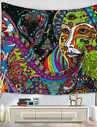 Недорогие -Декор стены 100% полиэстер Ретро Предметы искусства,Стена Гобелены из 1