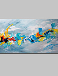 cheap -Large Hand Painted Modern Abstract Knife Oil Painting On Canvas Wall Art Picture For Home Decoration Ready To Hang