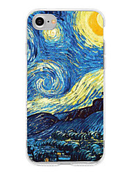 billige -Iphone 7 iphone 6s plus case cover mønster bagcover case scenery soft tpu til Apple iPhone 7 plus iphone 6 plus iphone 6s iphone 6