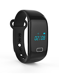 cheap -Smart Bracelet Touch Screen Heart Rate Monitor Water Resistant / Water Proof Calories Burned Pedometers Message Control Information Blood