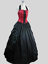 abordables -Rétro Victorien Costume Femme Adolescent Costume de Cosplay Costume de Soirée Bal Masqué Vintage Cosplay Popeline Fantaisie simple Sans