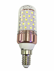 cheap -9W 600lm E14 LED Corn Lights T 60 LED Beads SMD 2835 Warm White / White 220-240V