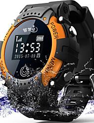 Недорогие -электронные часы Смарт Часы Цифровой Защита от влаги Коммуникация GPS Pезина Группа На каждый день Черный