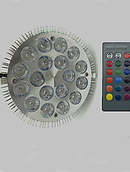 12W E27 LED Grow Lights 18 leds High Power LED RGB 900lm 6500K AC 85-265V