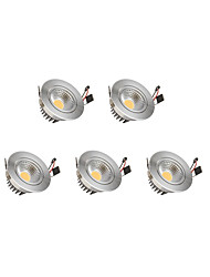 cheap -9W Dimmable COB LED Downlights Warm White Cool White LED Light Bulbs LED 5pcs/lot