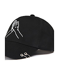 cheap -Baseball Cap Sun Hat Rose Embroidered Men's Women's Summer Leisure Holiday Cotton Couple's