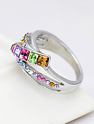 cheap -Women's Ring Jewelry Fashion Euramerican Costume Jewelry Rhinestone Alloy Jewelry Jewelry For Birthday Event/Party Other