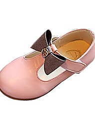 cheap -Girls' Loafers & Slip-Ons T-Strap Comfort Ballerina Flower Girl Shoes Summer Fall Outdoor Dress Casual Walking BowknotLow