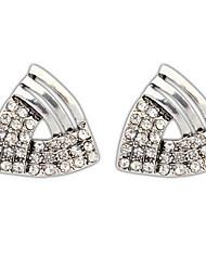 Women's Stud Earrings Drop Earrings Hoop Earrings Rhinestone Basic Circular Unique Design Logo Style Rhinestones Geometric Friendship