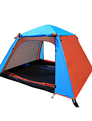 cheap -3-4 persons Tent Double Camping Tent One Room Automatic Tent Moistureproof/Moisture Permeability Waterproof Ultraviolet Resistant