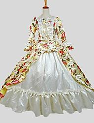 economico -Vittoriano Rococò Costume Per donna Teen Costumi Cosplay Vestito da Serata Elegante Stile Carnevale di Venezia Vintage Cosplay Tessuto