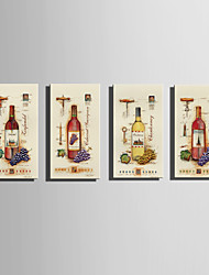 E-HOME Stretched Canvas Art Wine Poster Decoration Painting One Pcs